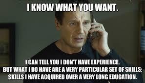 Liam Neeson, graduation, job,experience