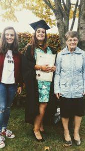 graduation, 3 women, graduation