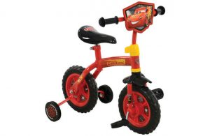 Disney Cars 3 2 in 1 10 Inch Training Bike
